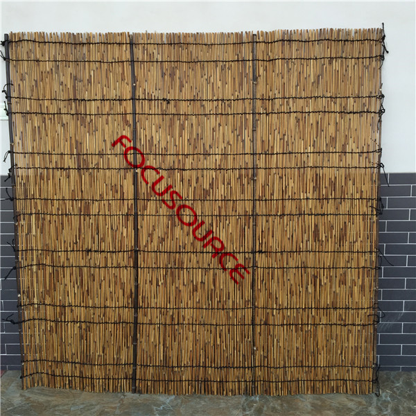 Carbonized Reed Fence Featured Image