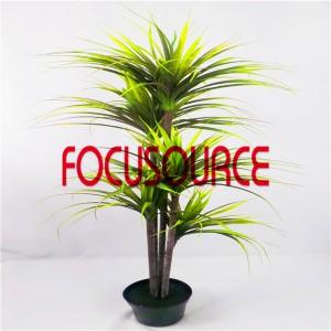 Artificial  Small Tree Bonsai -HY190-F-H150-T5-006