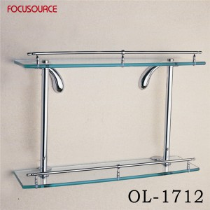 Double Glass Shelf-1712