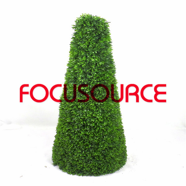 Artificial Boxwood Topiary Grass Tower-HY181-J2-H115-018 Featured Image