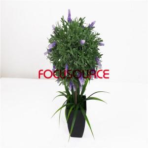 Artificial Plants Bonsai-H45cm20cm Mini Lavender Bonsai