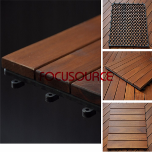 Decking Tile Of Acacia Wood