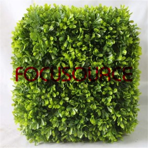 Artificial Boxwood Topiary Grass Tower-HY181-J5-H30-009