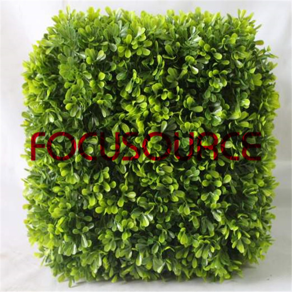 Artificial Boxwood Topiary Grass Tower-HY181-J5-H30-009 Featured Image