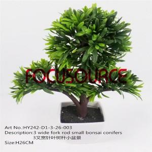 Artificial Small Bonsai Tree-HY242-D1-3-26-003