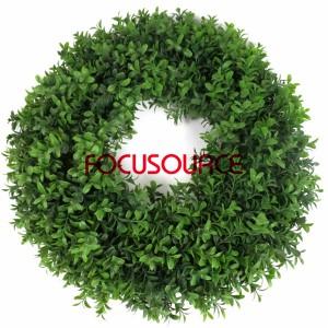 Kënschtlech Grass Circle-HY128-7-44cm