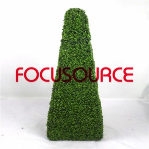 Artificial Boxwood Topiary Tower -HY08102-J1-H115-011