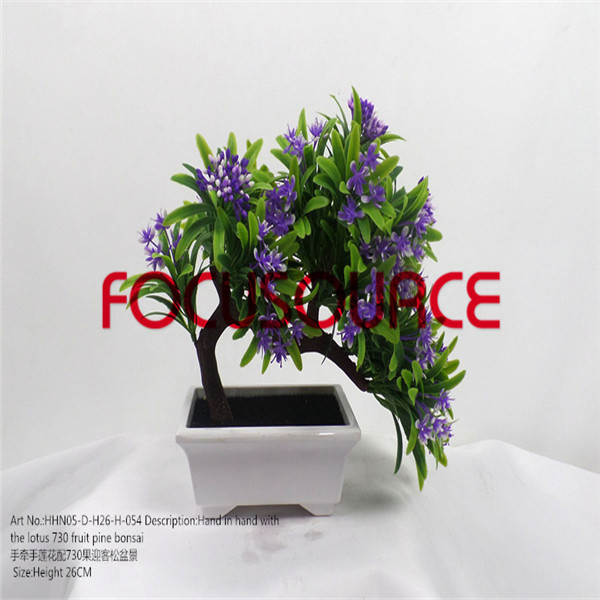 Simulation Flower Small Potted Plants-HHN05-D-H26-H-054 Featured Image