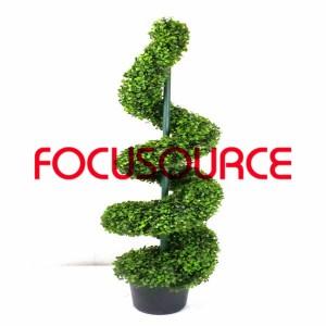 Artificial Boxwood Topiary Spiralni Tree -HY08103-J3-H120-020