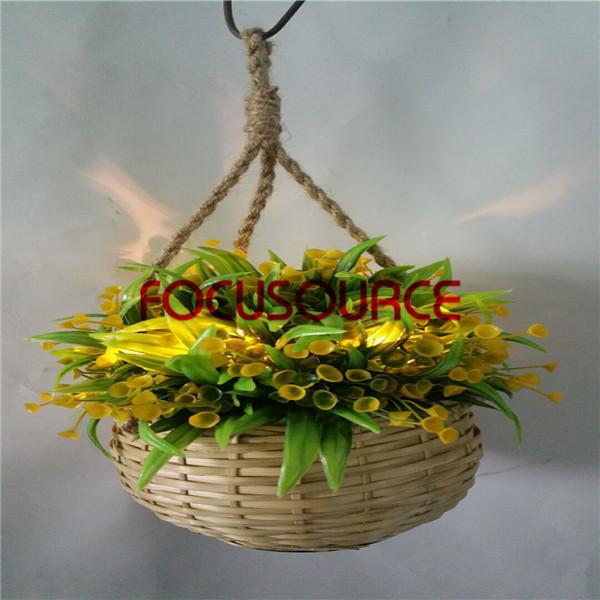 Big Discount Ceramic Floor Tile Artificial Hanging Basket Plant