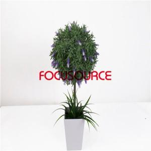 Artificial Plants Bonsai-H60cm26cm Mini Lavender Bonsai