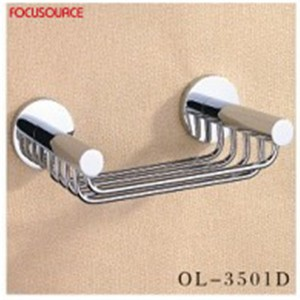square basket in Chrome-3501D