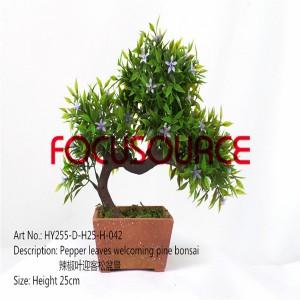 Artificial Small Bonsai Tree-HY255-D-H25-H-042