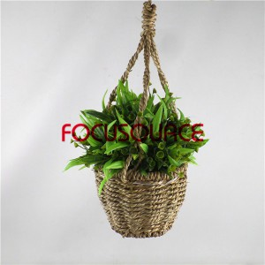 Artificial Hanging Basket Plant-HY192 + HY205-H-18-037 GN1
