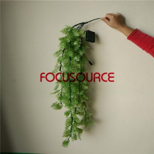 Artificial LED Hanging Leaf For Wall Decor-HY223-L5-H112-022