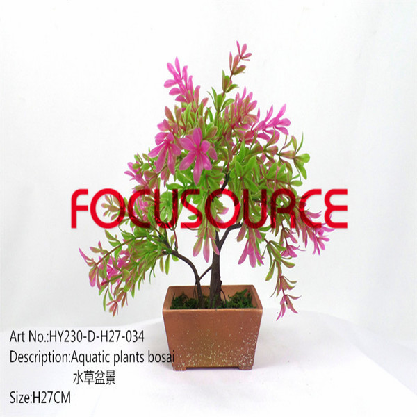 Artificial Small Bonsai Tree-HY230-D-H27-034 Featured Image