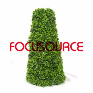 Artificial Boxwood Topiary Tower -HY08102-J2-H90-013