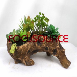 Artificial Succulent Biljke Bonsai-SM016K-O-031