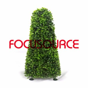 Artificial Boxwood Topiary Tower -HY08103-J1-H60-003