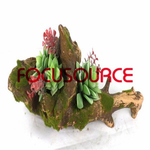 Artificial Succulent Biljke Bonsai-SM022KM-O-044