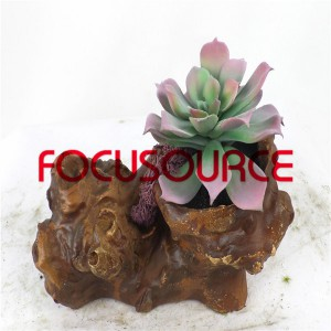 Artificial Succulent Biljke Bonsai-SM013K-O-025