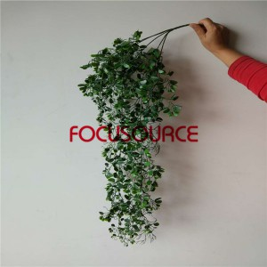 Artificial Hanging Leaf For Wall Decor-HY289-L5-H90-052