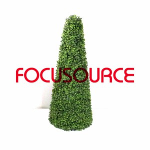 Artificial Boxwood Topiary Tower -HY08103-J2-H95-008