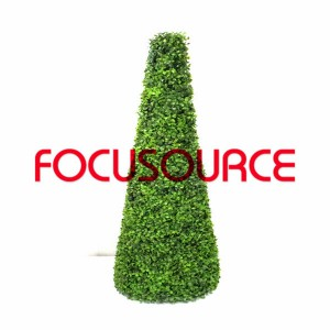 Artificial Boxwood Topiary Tower -HY08103-J2-H115-009