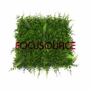 Artificial Grass Turf-SAM_3117-mixed grass carpet-25X25CM