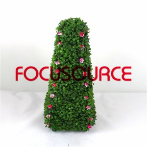 Artificial Topiary Grass Tower-HY245-J1-H60-022