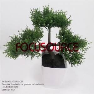 Artificial Small Bonsai-HY214-D2-3-25-019