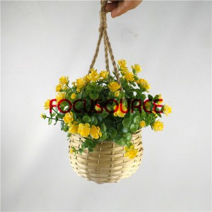 Artificial Hanging Basket Plant-HY136-H-19-HG-040  YL2