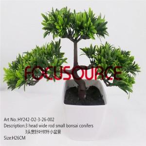 Artificial Small Bonsai Tree-HY242-D1-3-26-002