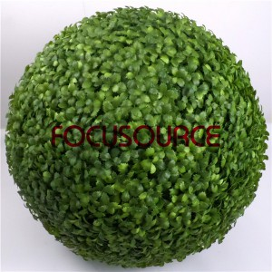 Artificial Topiary Boxwood Grass Ball-HY250-GW5-J