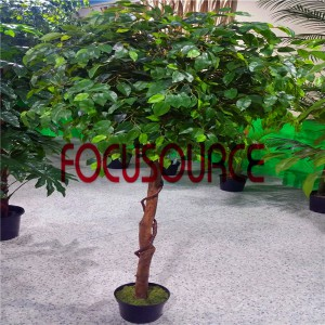 Artificial Plastic Banyan Tree - 1.8m (3)