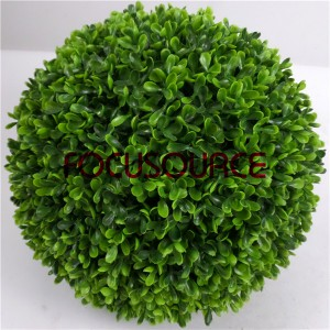 Artificial Topiary Boxwood Grass Ball-HY216-GN001