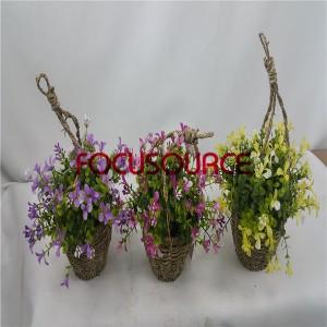 Artificial Hanging Basket Plant-HY143-H-19-HG