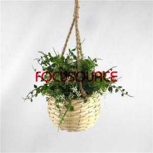 Artificial Hanging Basket Plant-HY228-H-18-H-038 GW1