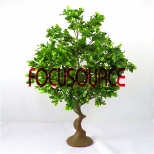 Artificial  Small Tree Bonsai -HY206-F-H100-080
