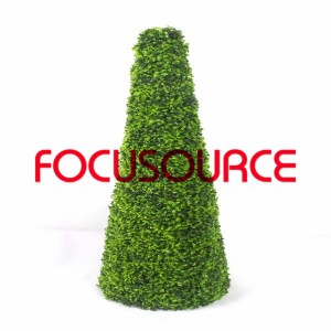 Artificial Boxwood Topiary Tower -HY08102-J2-H115-012