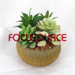 Artificial Succulent Biljke Bonsai-SM015K-O-029