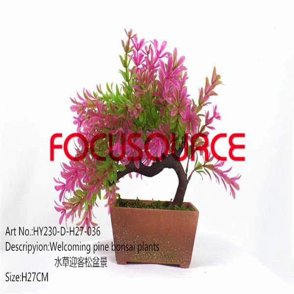 Artificial Small Bonsai Tree-HY230-D-H27-036 Featured Image