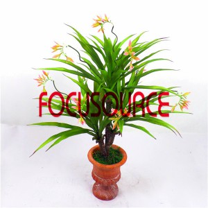 Artificial  Small Tree Bonsai -HY308-F-H63-T3-074