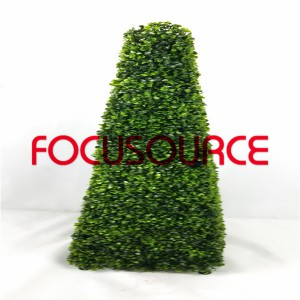 Artificial Boxwood Topiary Tower -HY08103-J1-H115-005
