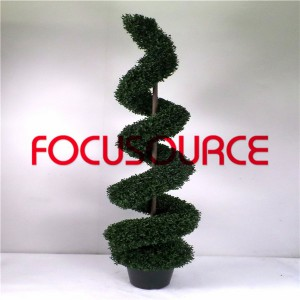 Artificial Spiral Boxwood Tree-HY216-J3-H180-014