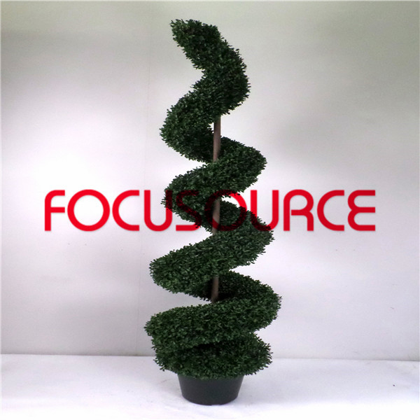 Artificial  Spiral Boxwood Tree-HY216-J3-H180-014 Featured Image