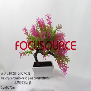 Artificial Small Bonsai Tree-HY230-D-H27-032