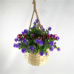 Artificial Hanging Basket Plant-HY136-H-19-HG-040 PU3