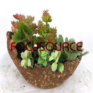 Artificial Succulent Plants Bonsai-SM017K-O-033