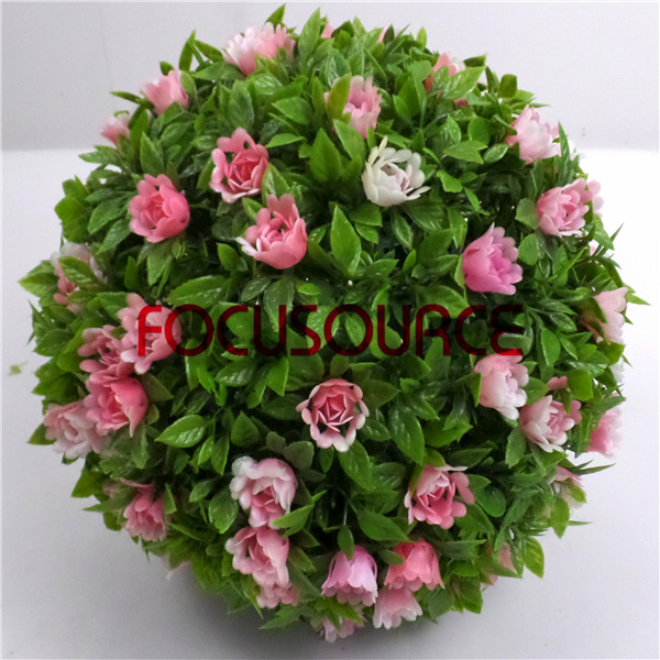 Artificial Boxwood Grass Ball-HY154-GN001 Featured Image